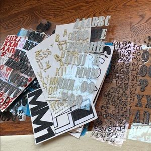 Mystery Scrapbooking Letters!!!